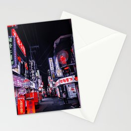 Selective Saturation Nights Stationery Cards