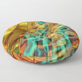 Microscopic Lightspeed Floor Pillow