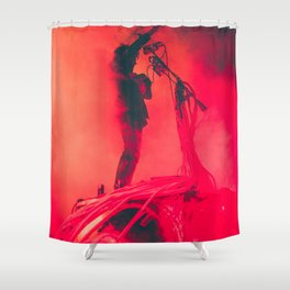 Flaming Lips Shower Curtain
