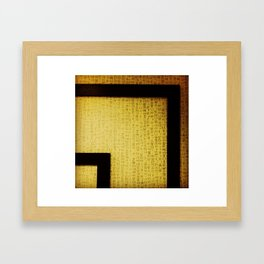 Hangul Framed Art Print