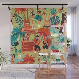 Resort living Wall Mural