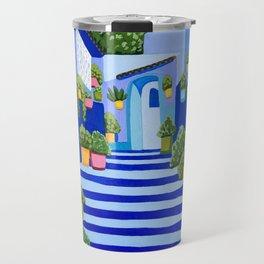 Blue Dreams Travel Mug