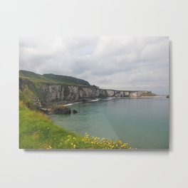 Ireland Cliffside Metal Print