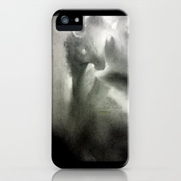 How the eyes of saturation world. iPhone Case