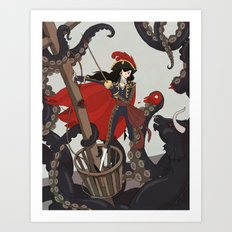 Nautical Matador Art Print