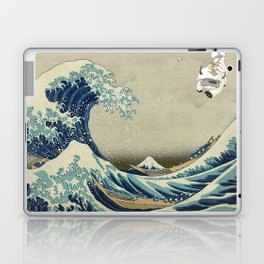 The Great Wave Off Katara Laptop & iPad Skin