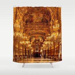 Luxury Opera National de Paris Garnier in France Shower Curtain