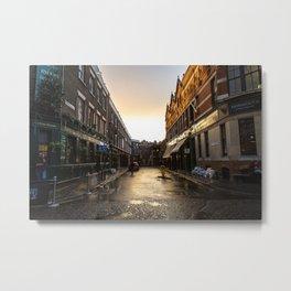 London after the rain Metal Print