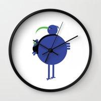 dad Wall Clocks featuring Dad by yael frankel