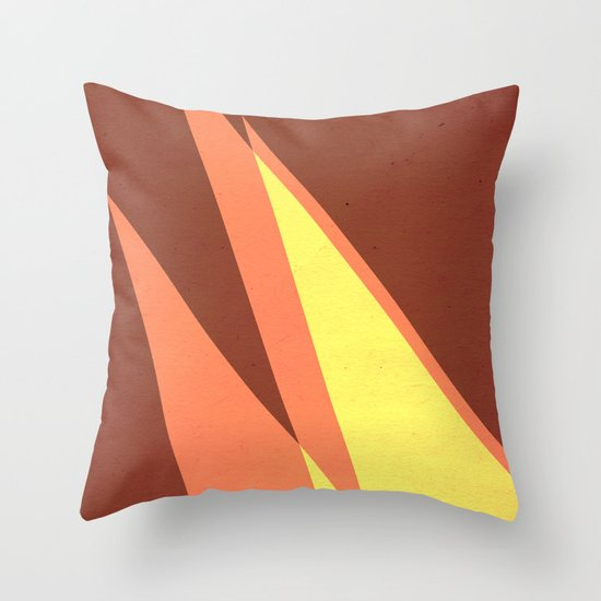 Vintage Space Poster Series II - Discover Space - It's a Blast! Throw Pillow