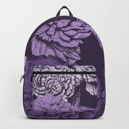 VIOLET FLORAL SYMPHONY Backpack