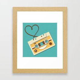 Memory Tape Framed Art Print