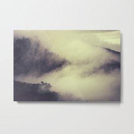 """Mountains love"" Metal Print"