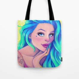 Citrus Girl Tote Bag