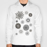 flower pattern Hoodies featuring Flower pattern by Noah's ART