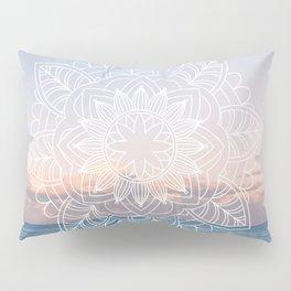 Twilight surf mandala Pillow Sham