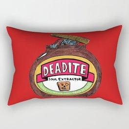 Deadite: The Evil Spread (Cap Off Version) Rectangular Pillow