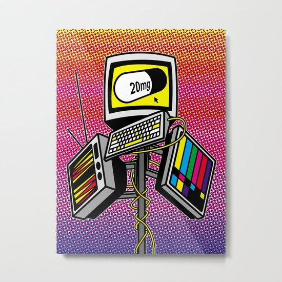 """Anti-Media for the Masses"" poster Metal Print"