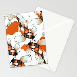 Koi Meditation Stationery Cards