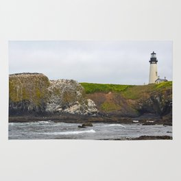 Yaquina Head Lighthouse Rug