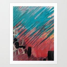Flash Art Print