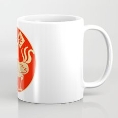 Year of the Rooster Gold and Red Mug