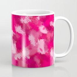 Cubist Valentines Pink Pattern Coffee Mug