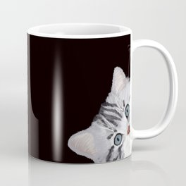 Hi! Sneaky Cat Coffee Mug