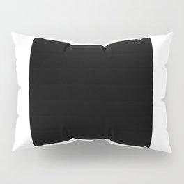 Minimalist Black Square Pillow Sham