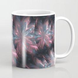 Abstract Flowers Symmetric Arrangement Coffee Mug