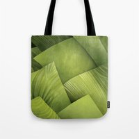 grass Tote Bags featuring Grass by Yevheniia Hlova
