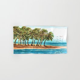Private Island Painting Hand & Bath Towel