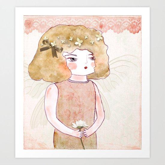 Fairy Puppet Art Print