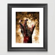 Hand of Doom Framed Art Print