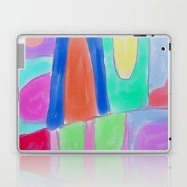 Funky Abstract Digital Painting Laptop & iPad Skin