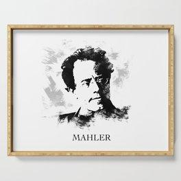 Gustav Mahler Serving Tray