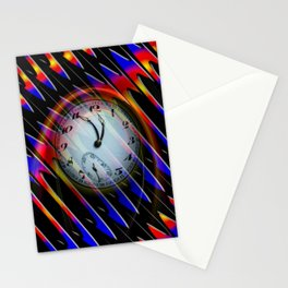 Abstract - Perfection- Time is running Stationery Cards