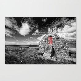 Red Door Milovaig Isle of Skye Canvas Print