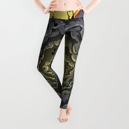 From Here to There Leggings