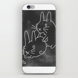 Bunny Love iPhone Skin