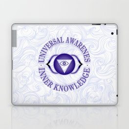 Third Eye chakra Laptop & iPad Skin