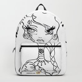 Painter Icon (B&W) Backpack