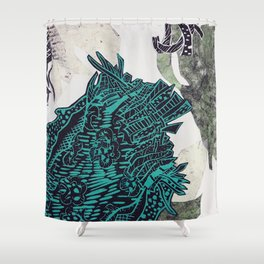 Potential Paisley Shower Curtain