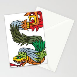Mayan dragon Stationery Cards