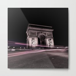 Arc de triomphe Paris France Metal Print