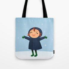 Snow! Tote Bag