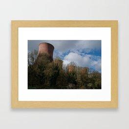 Cooling Towers Of Ironbridge Framed Art Print