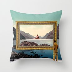 The Curator Throw Pillow