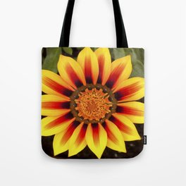 Gazania Flower Tote Bag