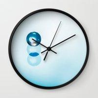 dragon ball Wall Clocks featuring ball by Joao Bizarro